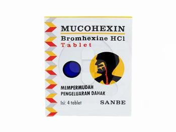 Mucohexin 8 mg Tablet  harga terbaik 2614
