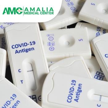 Rapid Swab Antigen Kuantitatif Test COVID-19 di Klinik Utama Amalia Medical Center, Jakarta Timur