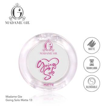 Madame Gie Going Solo Matte Pressed Eyeshadow 13 Pearl harga terbaik 16000
