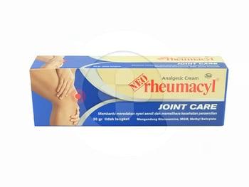 Neo Rheumacyl Joint Care krim 30 g digunakan untuk membantu meredakan rasa nyeri pada sendi dan memelihara kesehatan persendian.