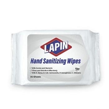 Lapin Hand Sanitizing Wipes - Putih  harga terbaik
