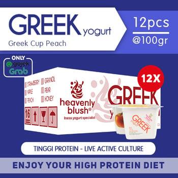 Heavenly Blush Yogurt Greek Peach 100 g  harga terbaik 300000