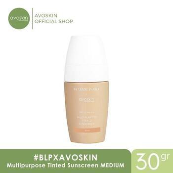 BLP X Avoskin Multipurpose Tinted Sunscreen 30 g - Medium harga terbaik 189000