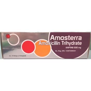 Amosterra kaptab adalah antibiotik yang digunakan untuk mengobati berbagai macam infeksi bakteri