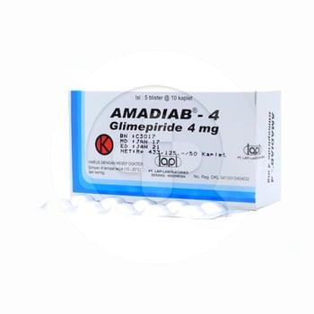 Amadiab Kaplet 4 mg  harga terbaik