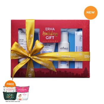 Value Pack Erha Holiday Anti Acne Lab Series harga terbaik