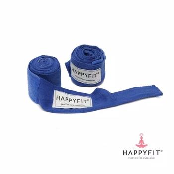 Happyfit Boxing Hand Wraps 274 cm - Royal Blue harga terbaik 90000