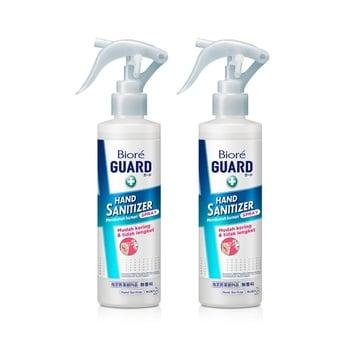 Biore Guard Hand Sanitizer Spray Antiseptik Ganda 200 ml - Twinpack harga terbaik 146710