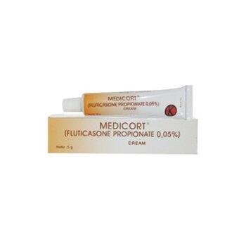 Medicort krim adalah obat untuk mengatasi gatal dan peradangan pada kulit