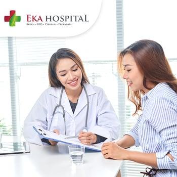 Medical Check Up (MCU) Diamond Wanita di Eka Hospital, BSD, Tangerang Selatan