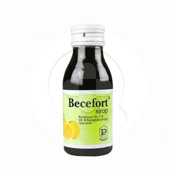 Becefort Sirup 60 ml harga terbaik 20416