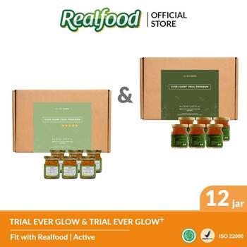 Realfood Ever Glow Plus dan Ever Glow Trial Program harga terbaik 1425000