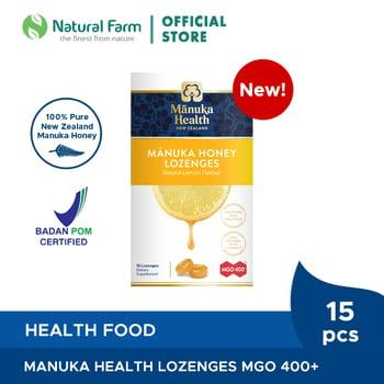 Manuka Health MGO 400+ With Lemon Lozenges harga terbaik