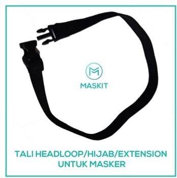 Maskit Tali Hijab / Headloop / Extension Masker Kain 3 Ply Maskit Anti Virus harga terbaik 4000