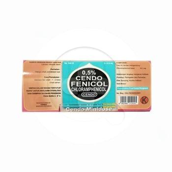 Cendo Fenicol Tetes Mata Minidose 0,50% - 5 x 0,6 mL