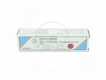 Centabio Gel 20 g untuk mengobati luka bakar, tukak kronik, luka yang sulit sembuh.