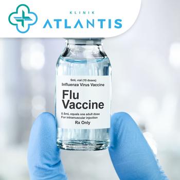 Vaksin Influenza di Klinik Atlantis