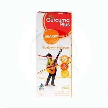 Curcuma Plus Sharpy Rasa Jeruk Sirup 60 mL harga terbaik 13485