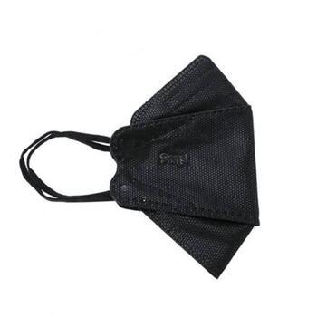 Sensi Convex Mask Earloop 4Ply - Black  harga terbaik