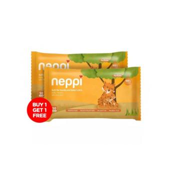 Neppi Baby Wipes Parfum 50s  harga terbaik 17000