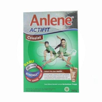 Anlene Actifit Rasa Cokelat 250 g harga terbaik 34528