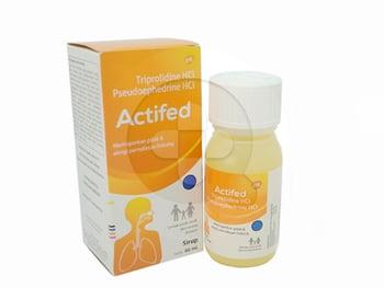 Actifed sirup adalah obat untuk mengatasi pilek dan alergi pada pernapasan