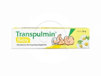 Transpulmin Baby Balsam 20 g harga terbaik 65555