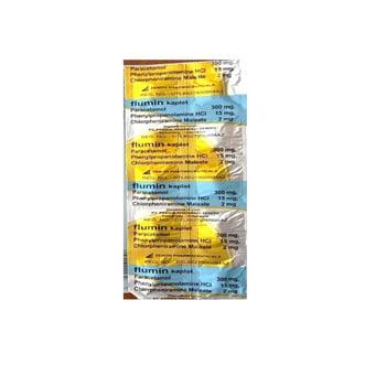 Flumin kaplet adalah obat untuk meredakan gejala-gejala flu.