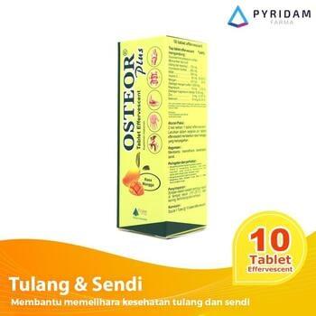 Osteor Plus Tablet Effervescent harga terbaik