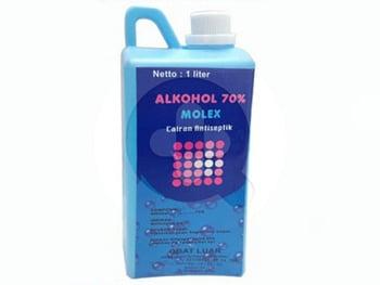 Alkohol Molex Ayus 70% - 1000 ml harga terbaik
