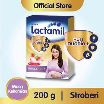 Lactamil Pregnasis Minuman Ibu Hamil Stroberi 200 g harga terbaik