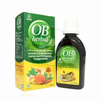 OB Herbal Sirup 100 mL harga terbaik 16513