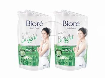 BIORE Body Foam Matcha 450 mL Twinpack harga terbaik 47600