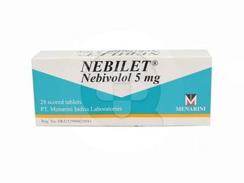 Nebilet adalah obat untuk mengatasi hipertensi atau tekanan darah tinggi