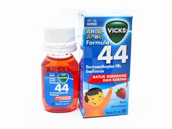 Vicks Formula 44 Anak Rasa Strawberry Sirup 27 mL harga terbaik 8506