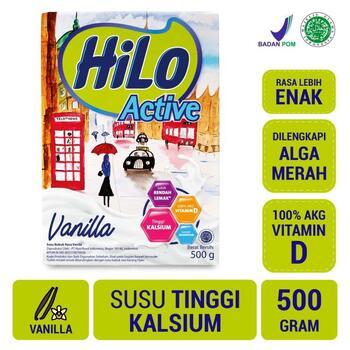 HiLo Active Vanilla 500 g harga terbaik 95000