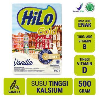 HiLo Gold Vanilla 500 g harga terbaik 84500