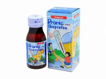Proris Forte sirup adalah obat yang digunakan untuk menurunkan demam dan meringankan nyeri