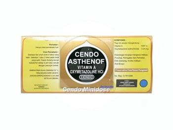 Cendo Asthenof tetes mata adalah obat yang digunakan untuk meringankan iritasi mata ringan