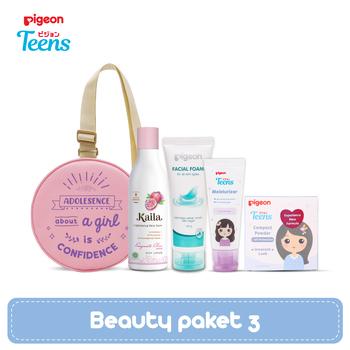 Pigeon Teens Beauty Paket 3 - Pink harga terbaik 355500
