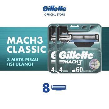 Gillette Refill Pisau Cukur Mach 3  harga terbaik 324000