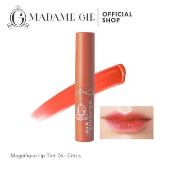 Madame Gie Magnifique Lip Tint 06 - Citrus harga terbaik 23000