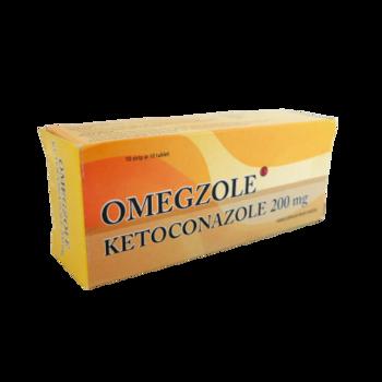 Omegzole tablet 200 mg obat untuk mengobati Infeksi jamur pada kulit, rambut, dan mukosa yang disebabkan oleh jamur