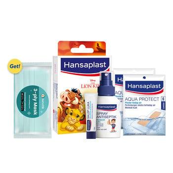 Hansaplast Protection Package GET SehatQ Mask harga terbaik 99900