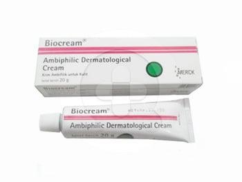 Biocream 30 g obat yang dipergunakan sebagai krim penyegar untuk kulit dan menjaga kesehatan kulit