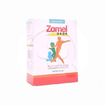 Zamel tetes merupakan suplemen multivitamin dan mineral.