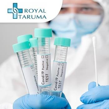 Swab PCR Test COVID-19 (Hasil 1 Hari) di Rs Royal Taruma,Jakarta Barat