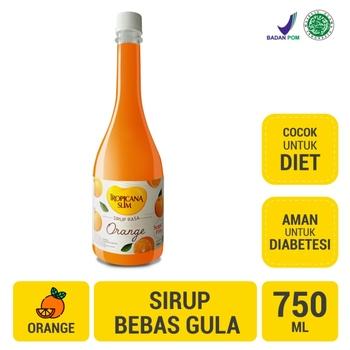 Tropicana Slim Sirup Orange 750 ml harga terbaik 35700