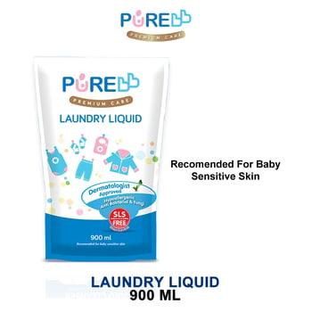 Pure Baby Laundry Liquid 900 ml - Refill harga terbaik 37000