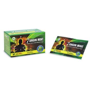 Jamu IBOE 1 Box Tujuh Angin Mint Cair Herbal Supplement Isi 10 Sachet harga terbaik 23000